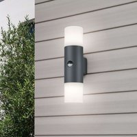 Hoosic   outdoor wall light with motion detector