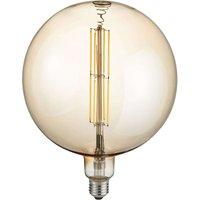 LED globe bulb E27 8 W 2 700 K amber