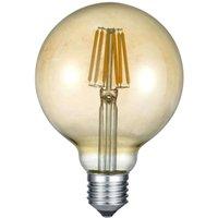 LED globe bulb E27 6 W 2 700 K amber