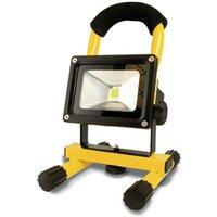 LED battery construction spotlight Benno  10 W
