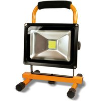 Benno LED battery construction spotlight  20 W