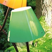Green lampshade for outdoor light OCTOPUS OUTDOOR