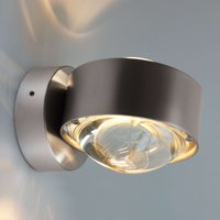Puk Wall LED wall light  matt chrome
