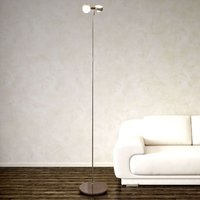 Flexible floor lamp PUK FLOOR  matt chrome  2 bulb