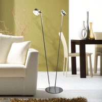 Versatile floor lamp PUK FLOOR  matt chrome
