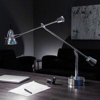 Tecnolumen Buquet LED table lamp  silver plated