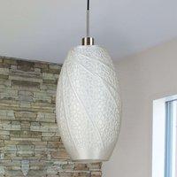 Flora   designer pendant light using 3D print