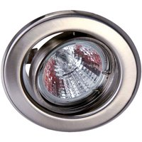 Low voltage recessed light in stainless steel