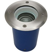 high voltage recessed floor light rotatable by 25