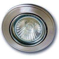 Tom recessed light  tension relief  matt chrome