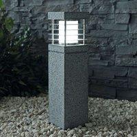 Made of genuine granite   pillar light La Mer