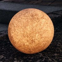 Bright decorative ball Mundan  30 cm  terracotta