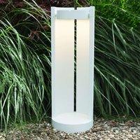 LED path lamp Lene with an adjustable head