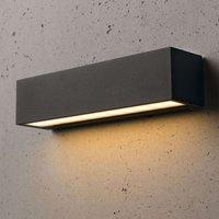 Slim Medea LED outdoor wall light 25 cm
