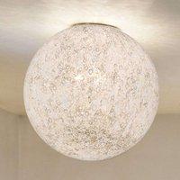 Handmade glass ceiling light RINA
