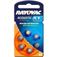 Rayovac 13 Acoustic 1 4 V  310mAh button cell