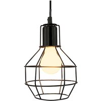 Plex hanging light  grid lampshade 15 cm diameter