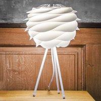 UMAGE Carmina white tripod table lamp