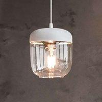 UMAGE Acorn hanging light white copper