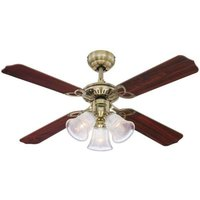 Princess Trio illuminated ceiling fan
