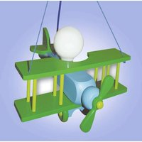 Funny green Aeroplane hanging light