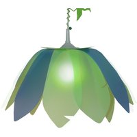 Flower Dinosaur hanging light for children
