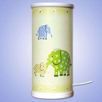 Magical green Elephant LED table lamp