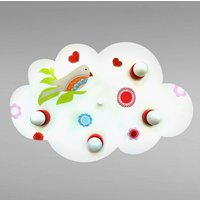 Enchanting Cloud bird of paradise ceiling light