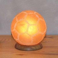 Decorative table lamp Football