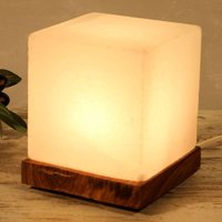 Interesting Cube White Line table lamp