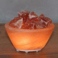 Petite salt bowl   small LED decorative light