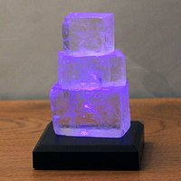 Halite Tower battery powered LED table lamp