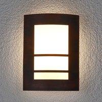 Katalea Outside Wall Light Rust Brown