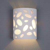 Hanni Wall Light Decorative Plaster