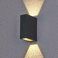 Maisie   LED outdoor wall light made of aluminium