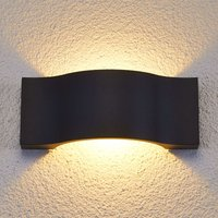 Elegant LED outdoor wall light Jace graphite