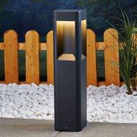 Aluminium LED pillar light Annika  50 cm