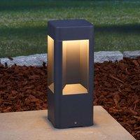 Aluminium LED pillar light Annika  30 cm