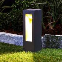 Jenke LED pillar light made of aluminium
