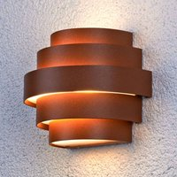 Enisa LED wall light for outdoors