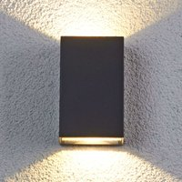 Jale LED outdoor wall light made of aluminium