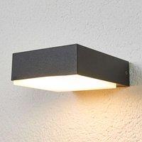Flat  downward shining LED wall lamp Pepe