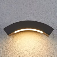 Lennik Curved LED Exterior Wall Lamp