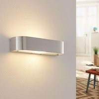 Aluminium wall light Nika with an E14 LED lamp