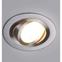 Round high voltage recessed light Sophia