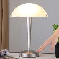 Attractive table lamp Viola  matt nickel