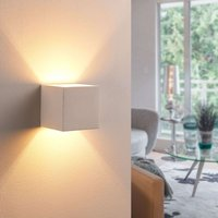 Upward  and downward shining LED plaster light Kay
