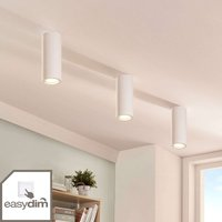 Plaster downlight Annelies with Easydim LED bulb