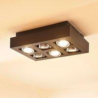 Vince LED ceiling light  36 x 25 cm in black