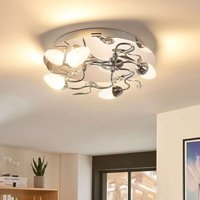 Round  3 stage dimmable LED ceiling light Mischa